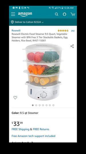 Food steamer for Sale in Rialto, CA