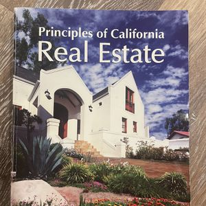 Brand New Principles Of California Real Estate Book for Sale in Fremont, CA