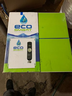 Eco Smart 27 tankless hoy water heater for Sale in Shawnee, KS