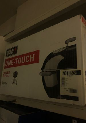 Weber one-touch charcoal grill for Sale in Huntington Beach, CA