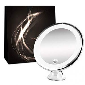BESTOPE Lighted Makeup Mirror 10x Magnifying Vanity Mirror with LED Lights for Sale in Palmdale, CA