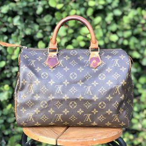 Authentic Louis Vuitton Speedy 30 Hand Bag Purse Monogram for Sale in San Diego, CA