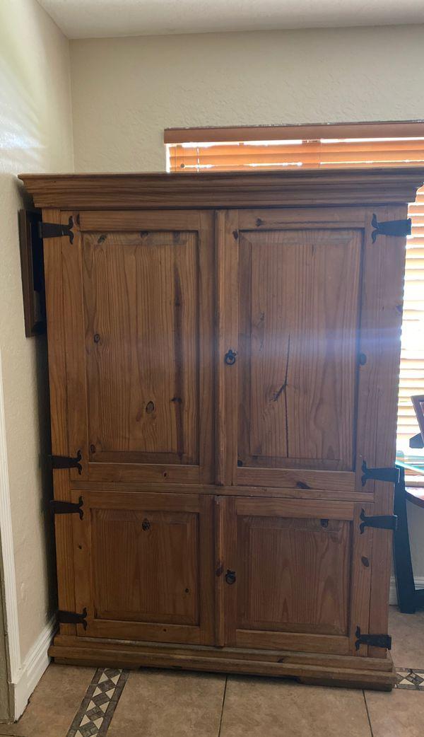 Solid Pine wood Chest unit
