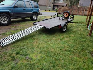 Motorcycle trailer for Sale in BETHEL, WA