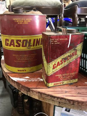 Vintage Gasoline Cans for Sale in San Diego, CA