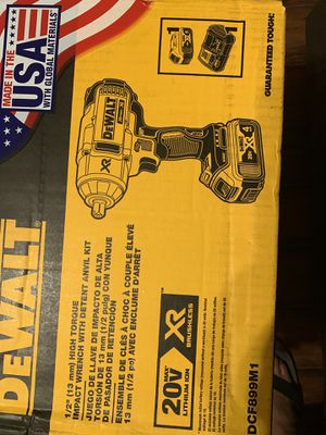 NEW 1/2 HIGH TORQUE IMPACT WRENCH for Sale in Dallas, TX