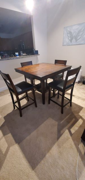 High top Kitchen table set for Sale in Bethesda, MD