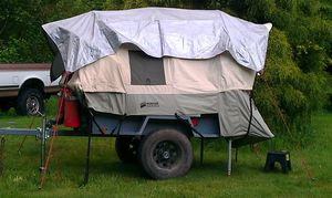 Custom Eric tent/ utility trailer for Sale in Arlington, WA