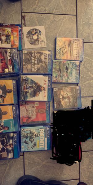 Brand New Ps4 Games never opened / ask for price/ pick up only for Sale in Fresno, CA