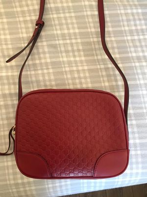 Gucci Red Leather Crossbody Bag for Sale in Fremont, CA