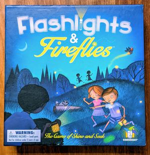Gamewright, flashlights & fireflies, the game of shine and seek, 2-5 players, ages 6+ for Sale in Kirkland, WA
