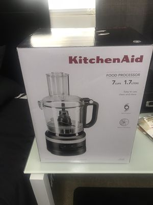 KitchenAid 7-Cup Food Processor, Matte Black (Kitchen Appliance) for Sale in South Gate, CA