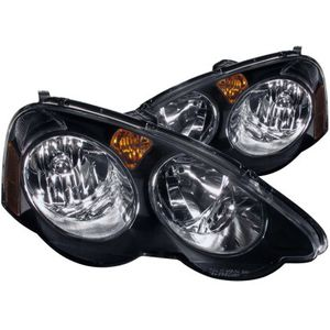 ANZO 2002-2004 Acura Rsx Crystal Headlights Black for Sale in Garden Grove, CA