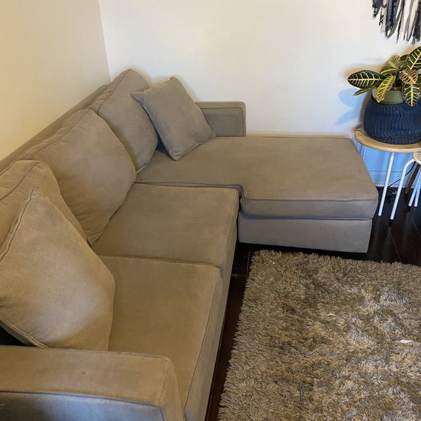 Grey Small Sectional Sofa
