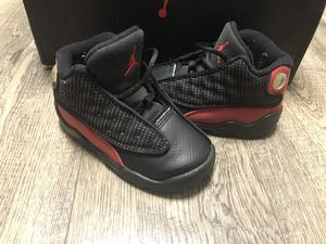 Nike Air Jordan 13 retro Bred size 7c for Sale in Raleigh, NC