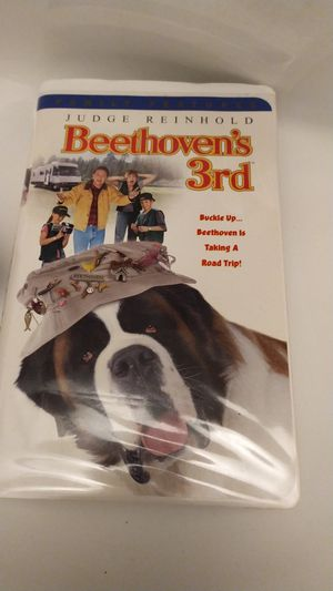Beethoven's 3rd vhs for Sale in Miami, FL