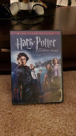 Harry Potter and the goblet of fire movie for Sale in Kirkland, WA