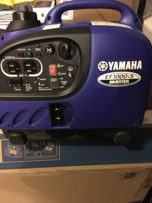 Yamaha all even use one time it's brand new it's a handhold to 1000W for Sale in Vancouver, WA