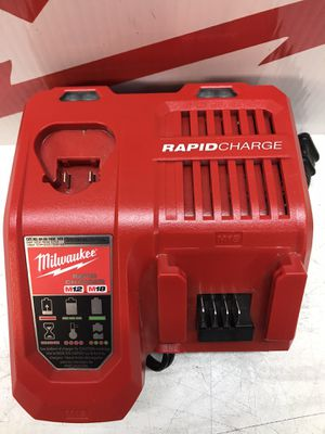 Milwaukee M12 and M18 12-Volt/18-Volt Lithium-Ion Multi-Voltage Rapid Battery Charger for Sale in Bakersfield, CA