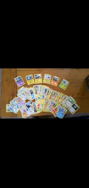 51 pokemon cards ,1 Ex secret rare, 8 rare Holo and 8 tcg online codes for Sale in Wonder Lake, IL