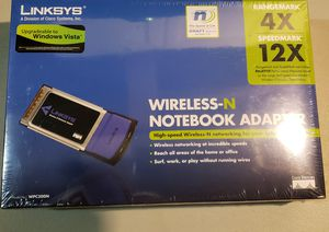 New•Linksys WPC300N Wireless-N MIMO Notebook Adapter for Sale in Tacoma, WA
