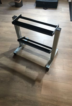 Small dumbbell stand for Sale in Plainfield, IL