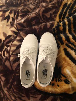 White vans men's 10 for Sale in Riverside, CA