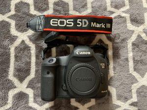 Canon 5D mark 3 for Sale in San Jose, CA