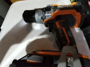 Brand New Octane Ridgid hammer drill with 3ah battery for Sale in Brandon, FL