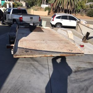 Car Hauler / Flat Bed Trailer /utility Trailer for Sale in Escondido, CA