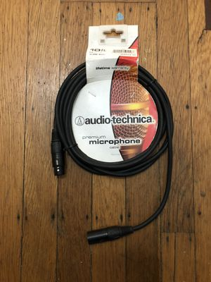 Audio Technica AT 690-6 Premiummic/Speaker Cable . Sealed/New 10 foot length. for Sale in Berkeley, CA