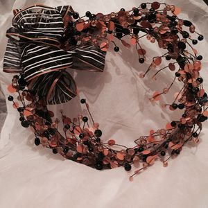 Halloween Decoration- Twig and Bead Wreath for Sale in Austin, TX