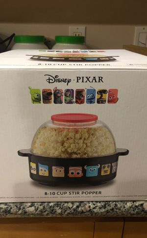 Disney DPX Pixar collection popcorn popper for Sale in Chino, CA