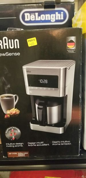 Braun coffee maker for Sale in Modesto, CA