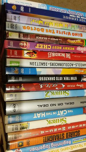 18 DVD Movies and 1 DVD game for Sale in Maricopa, AZ