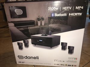 Daneli acoustics home theater system for Sale in Lake Elsinore, CA