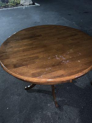 Brannan Furniture Round Single Pedestal Dining Table for Sale in San Jose, CA