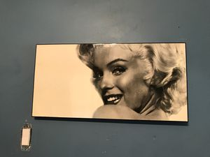 Home decor marylin Monroe poster for Sale in Chicago, IL