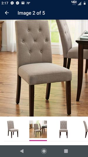 Set of 4 dining chairs for Sale in Virginia Beach, VA