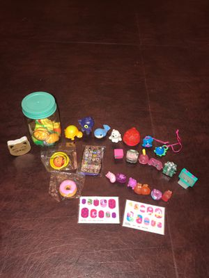 Miscellaneous Toys Shopkins erasers etc for Sale in Auburn, WA