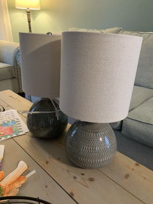 Set of Table Lamps for Sale in East Greenwich, RI