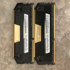 Corsair vengeance pro DDR3 2400Mhz for Sale in Queen Creek, AZ