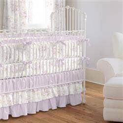 Lavender Floral Shabby Chic Baby Crib Bedding for Sale in Sherwood, OR