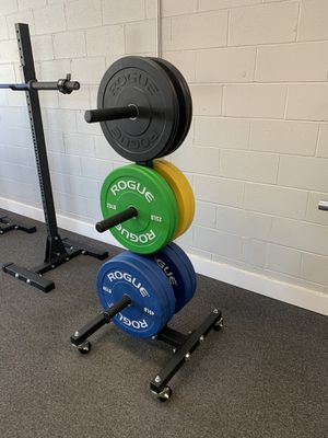Plates & Weight Tree w/wheels for Sale in Columbus, OH