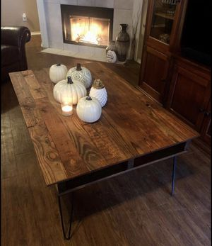 Handmade mahogany coffee table for Sale in Irving, TX