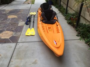 Point 65n Tandem and SoloModular Kayak with Accessories for Sale in Brea, CA