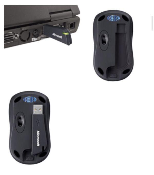New Microsoft Wireless Optical Mouse 3000 Winter Blue