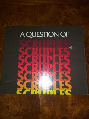 Adult Board Game- Scruples (a question of) for Sale in Raleigh, NC