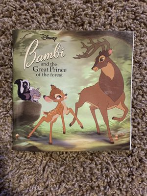 Disney Bambi and the Great Prince of the Forest (Random House Pictureback Book for Sale in Phoenix, AZ