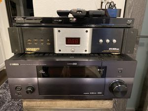 Yamaha 2700 receiver + Monster Amplifier + Sony Blue Ray for Sale in Woodland Hills, CA